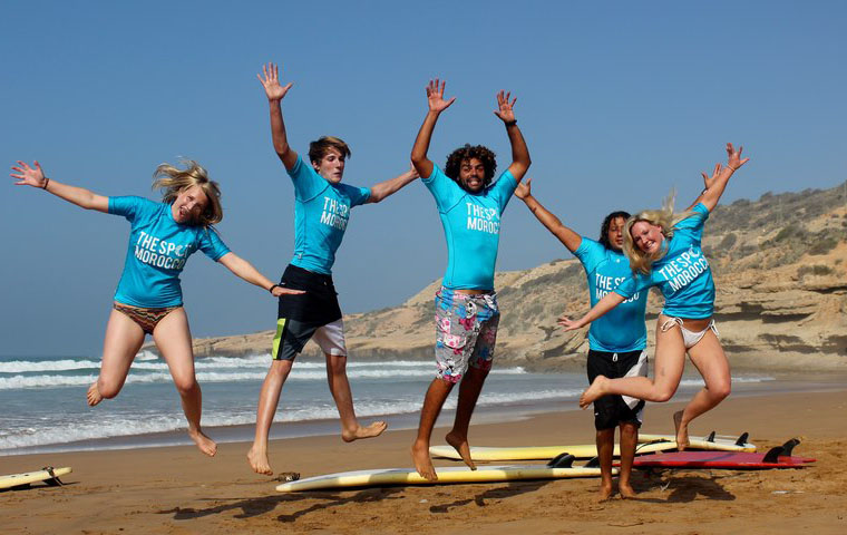 The Spot Morocco Team and Guests: Surf camp Morocco, Surfing Morocco, Surf Morocco, Surf School Morocco, Surf Holidays in Morocco, Surf Taghazout