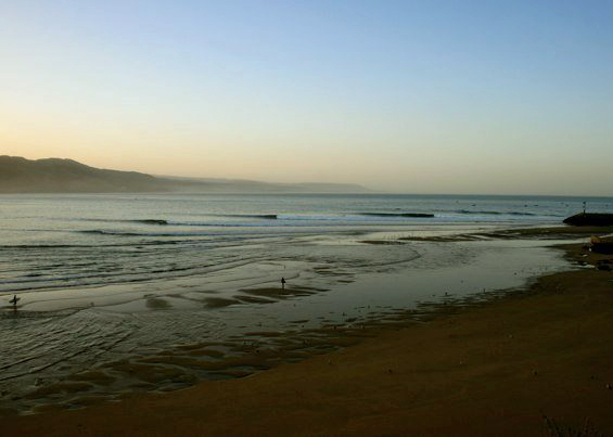 Immsouanne sunrise | The Spot Morocco, Surf Camp Taghazout, Surf in Morocco, Surfing Holiday Morocco, Where to Surf in Morocco