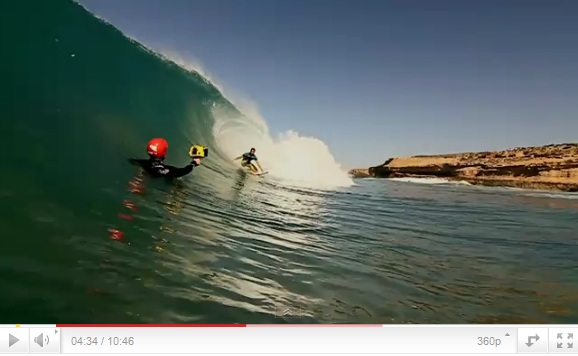 Tubes and turns in Morocco