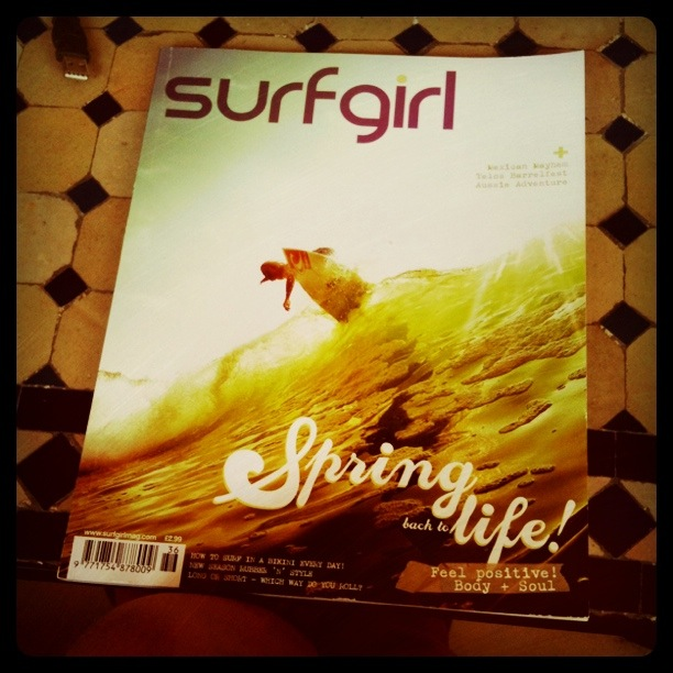 Work to Surf: We're featured in the latest issue of SurfGirl Magazine