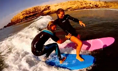 VIDEO: Who said foamies aren't fun?!