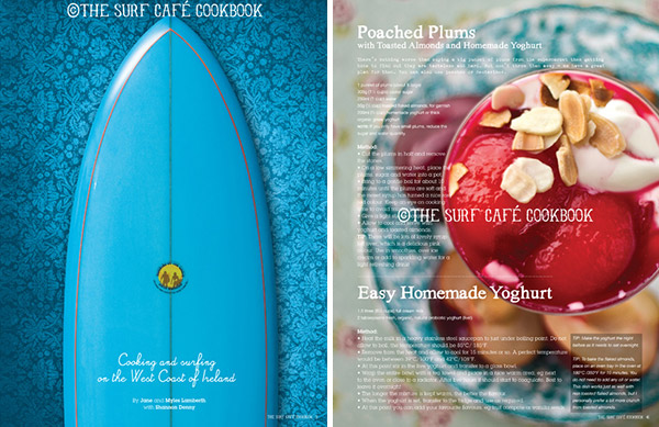 The Surf Cafe Cookbook: A Must Have for Surfing Foodies!