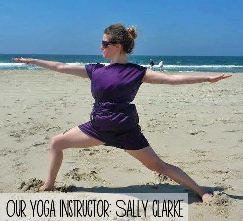 Sally Clarke   Yoga Teach at The Spot Morocco
