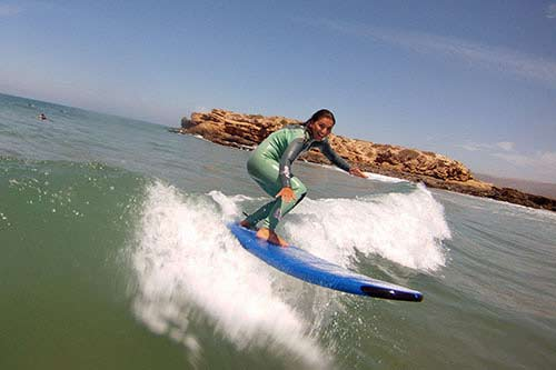 Surf Lesson at Devils Rock | The Spot Morocco, Surfing Morocco, Surf Lessons Morocco Surf Camp Morocco