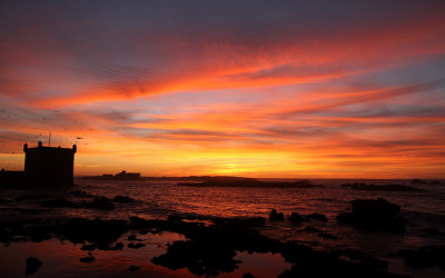 Essaouira Sunset | The Spot Morocco, surf camp morocco, surf holiday in morocco, surf morocco