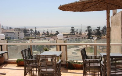 View from terrace | Surf Camp Morocco